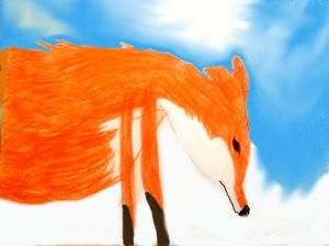 fox is sad