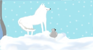 white coyote1